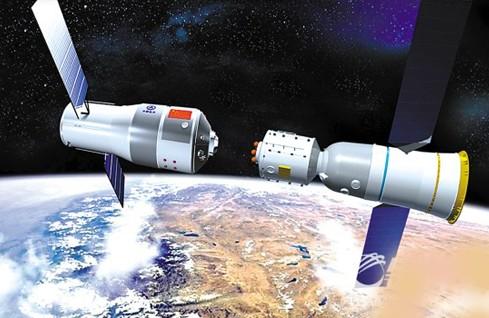 Live: Manual docking of Shenzhou 9 with Tiangong 1