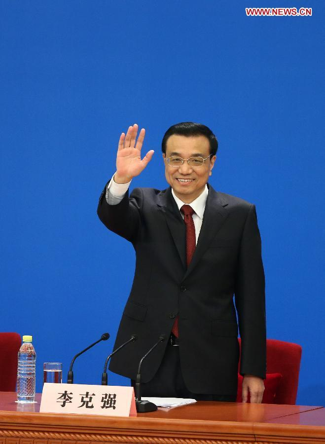 Live: Premier Li Keqiang's debut press conference