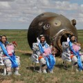Shenzhou 10 returns to Earth