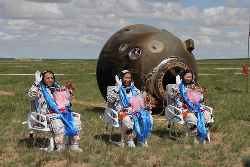 Live: Shenzhou 10 returns to Earth
