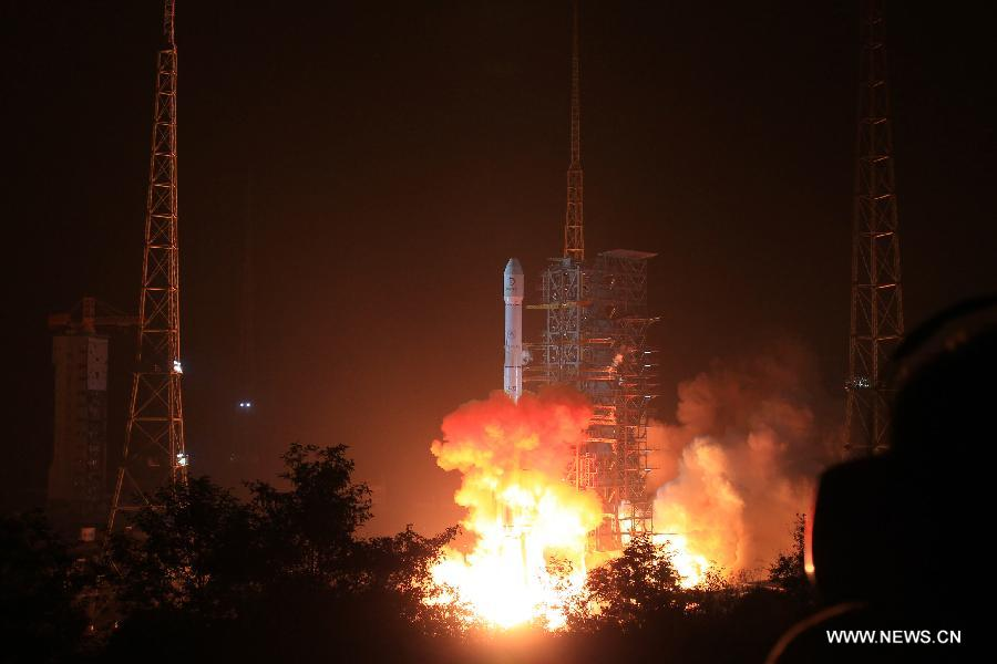 Live: China launches its first moon rover
