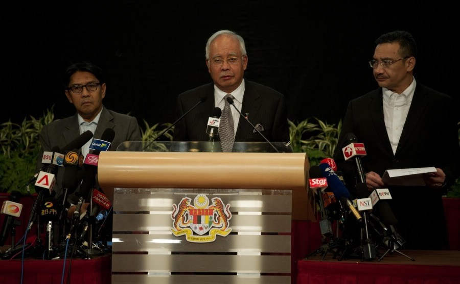 Malaysian PM: Missing MH370 'ended in Indian Ocean'