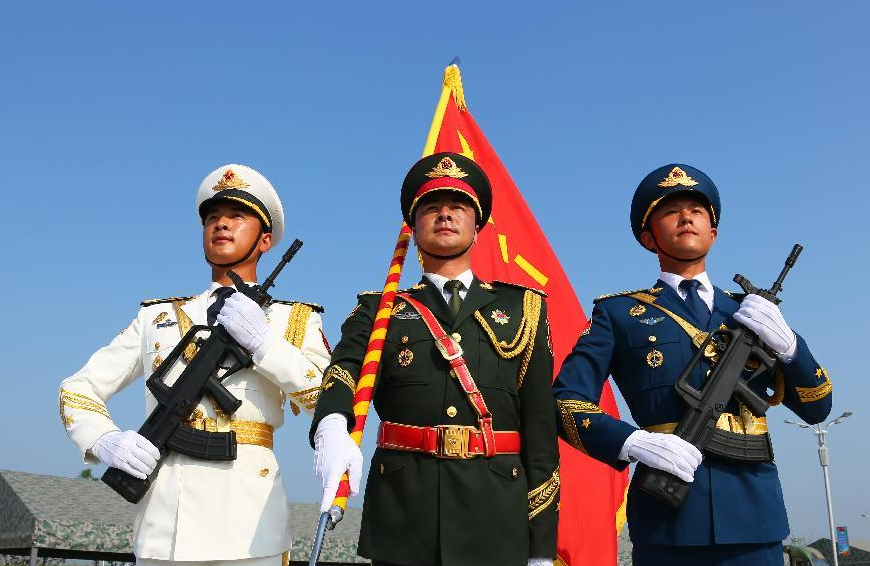 Beijing's WWII military parade