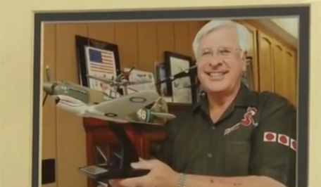 On Sept.3 , Larry Jobe is set to lead a group of Flying Tiger veterans in Beijing.