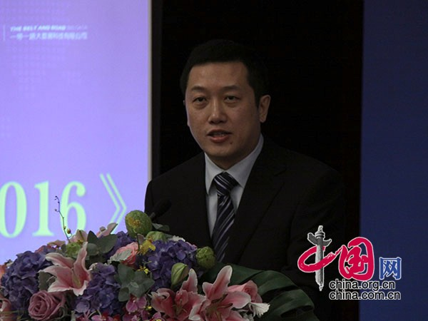 Yu Shiyang, deputy director of Informatization Research Department of State Information Center