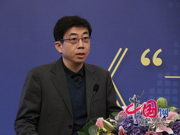 Professor Zhai Kun from the international relations of Peking University